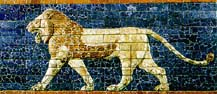 Lion (Ishtar Gate Detail)